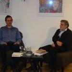 Marko Kerševan v trubarjevi hiši literature, 4. .4. 2012