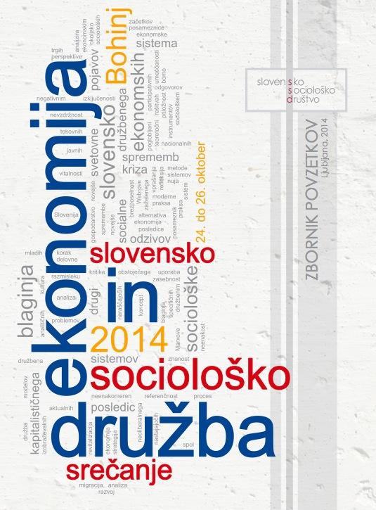 Sociološko srečanje 2014: Ekonomija in družba