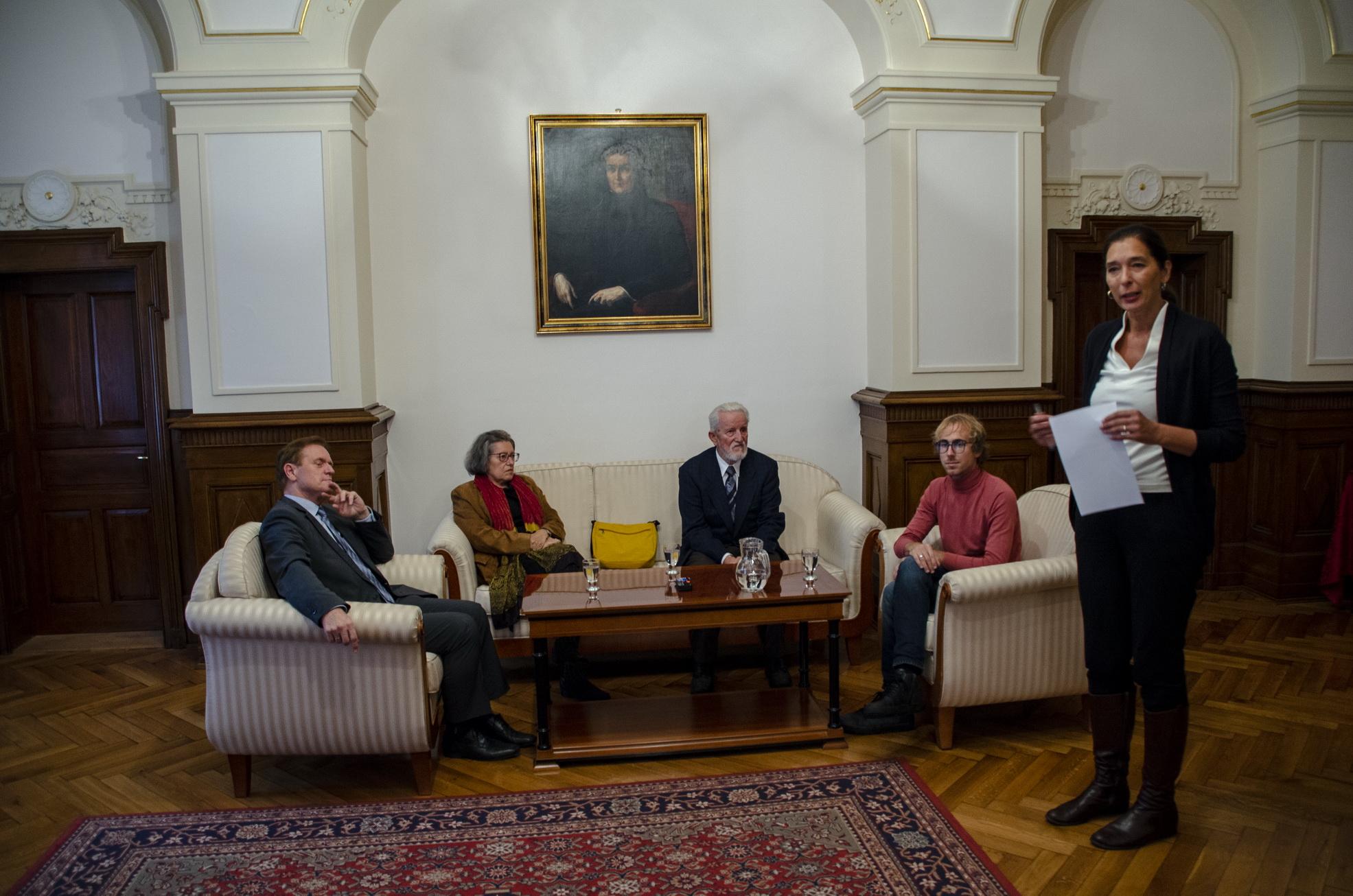 Letošnja nagrajenka in nagrajenci Slovenskega sociološkega društva